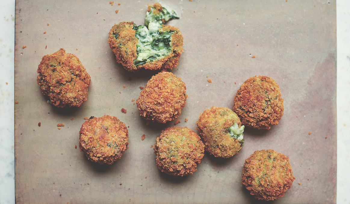 Cook It Basque: Spinach And Goat Cheese Croquetas