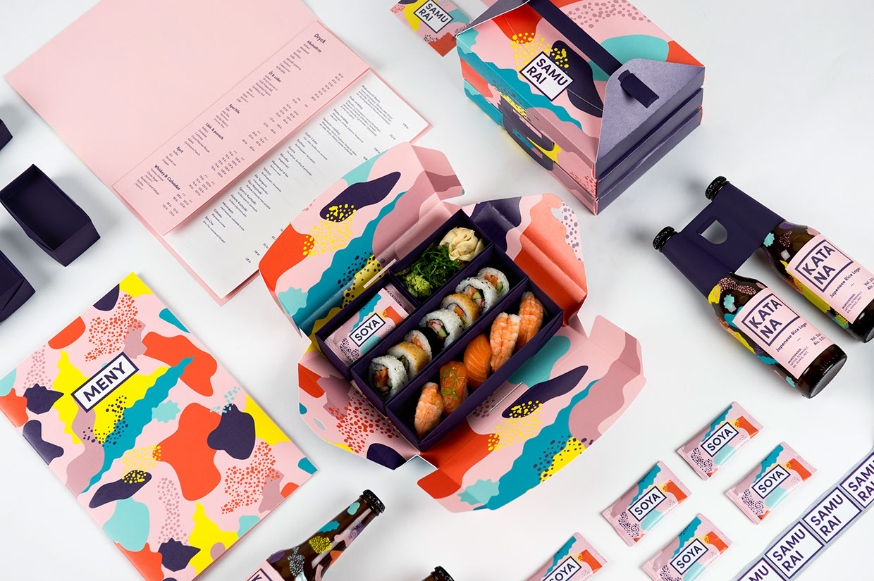 What Happens When Swedish Design Meets Sushi Takeout? Packaging Magic!