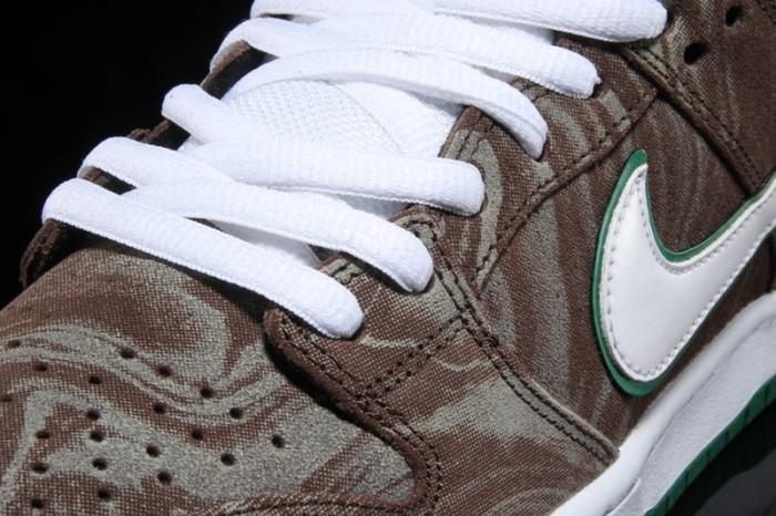 This Nike SB dunk low gives a new meaning to coffee art.