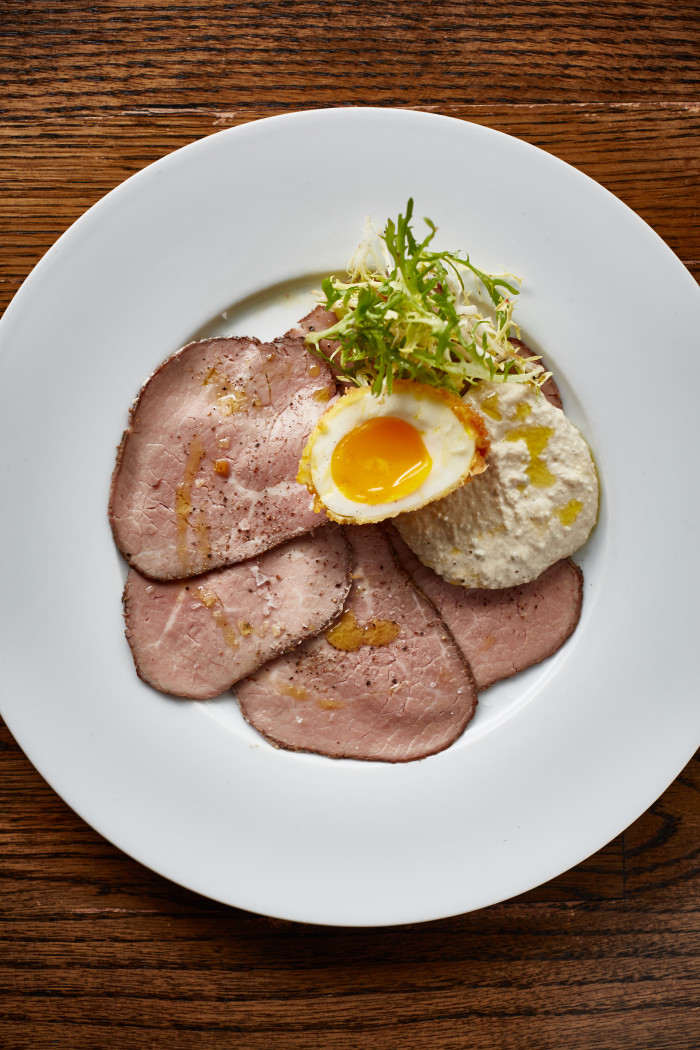 Vitello tonnato, a plate of thinly sliced veal served with a tuna-caper-anchovy dressing, sounds like a mystifying combination — but Grant suggests that one bite will change that.
