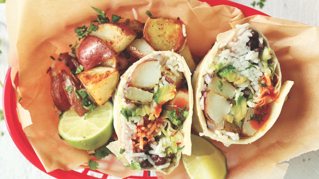 Fully Loaded The Vegan Breakfast Burrito Food Republic