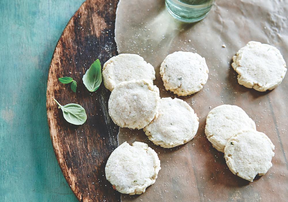 Summer Sweets: Lemon-Basil Butter Cookies