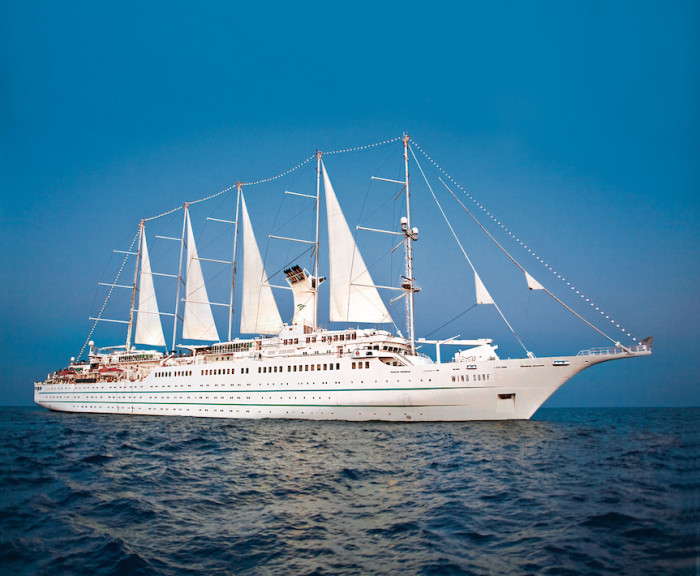 """A trio of cruises dubbed the """"James Beard Foundation Collection"""" is a partnership between Windstar Cruises and the James Beard Foundation. (Photo credit: Windstar Cruises)"""