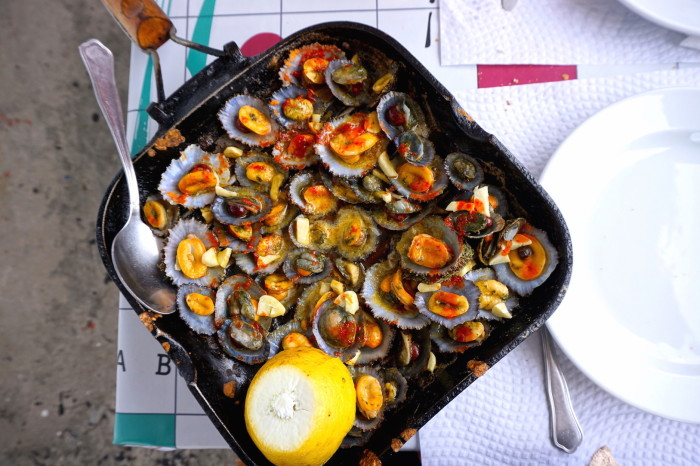 grilled limpets azores Jenny Miller