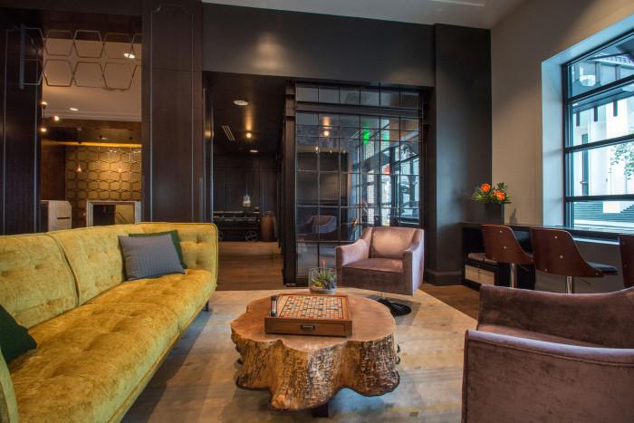 Hotel Lucia lobby Portland photo