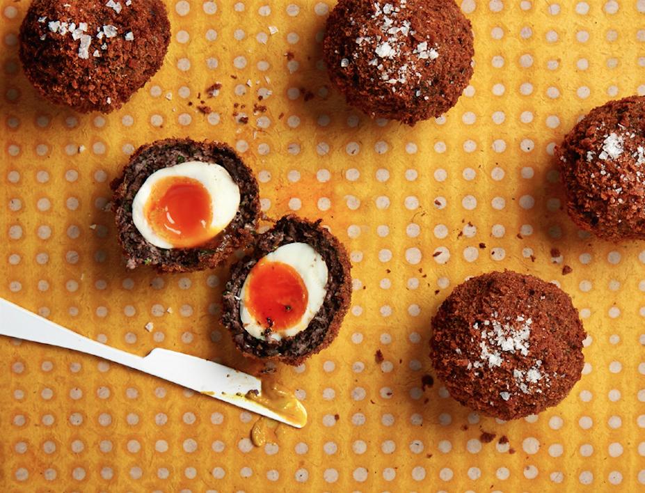 Holy Snack! It's A Black Pudding Scotch Eggs Recipe