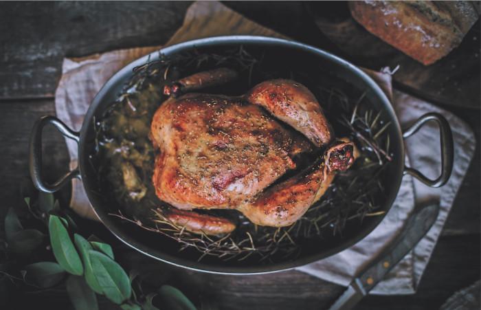 bacon and maple roast chicken recipe