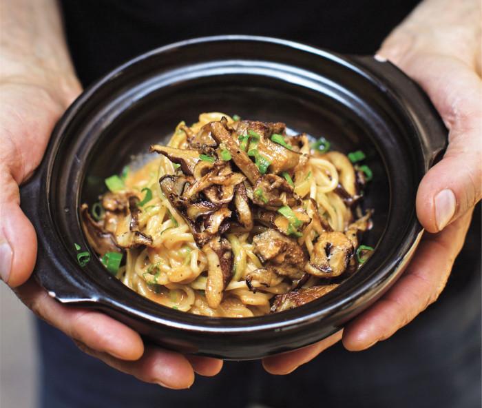 dan dan noodles shiitake mushroom recipe