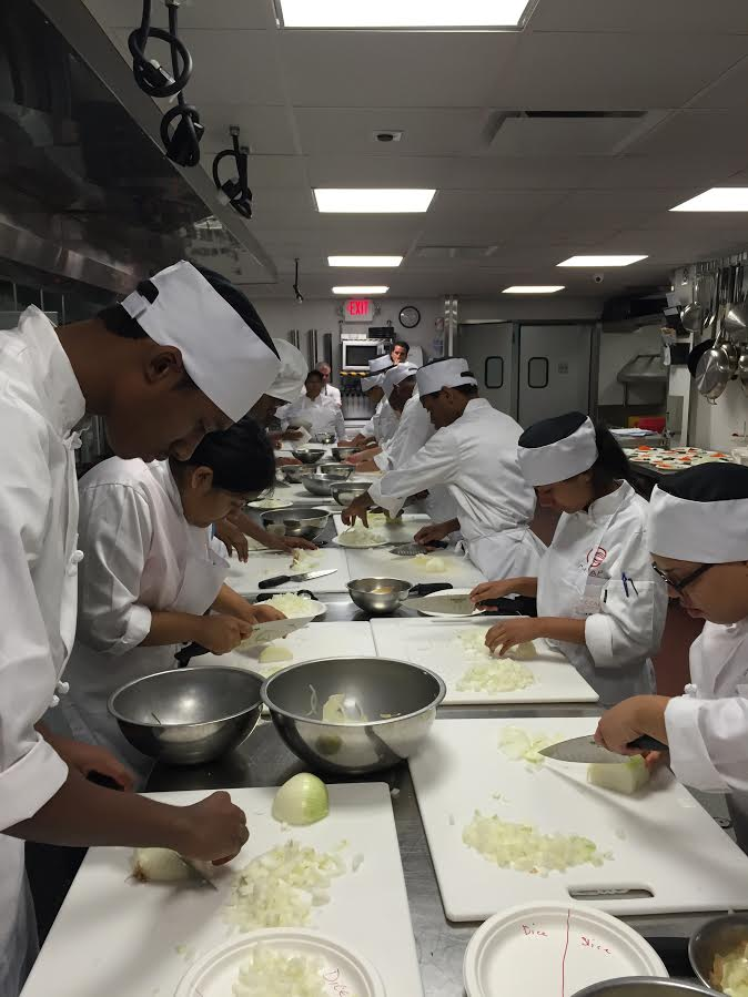 Careers Through Culinary Arts Program works with over 17,000 high school students.