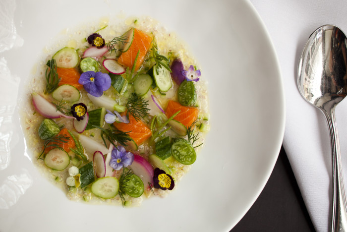 The Gramercy Tavern was a world-class bar and food lived harmoniously.