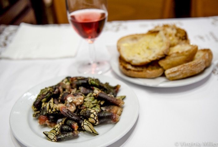 Ramiro Lisbon's Barnacles & Butter Toast-Copyright Virginia Miller