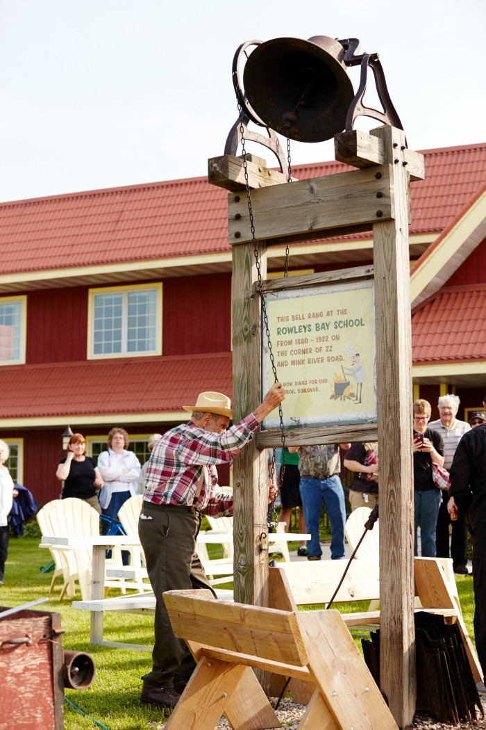 Ringing Bell at Rowleys