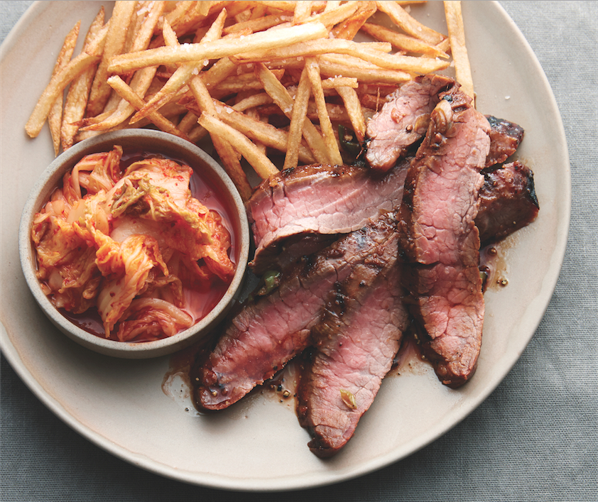 How To Make Korean Steak Frites