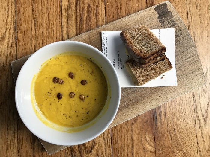 Tahitian Squash Soup from Salt's Cure