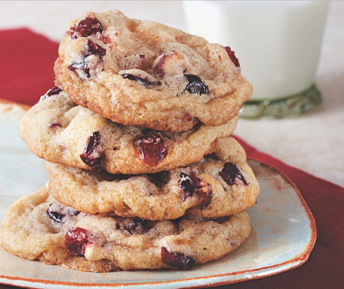 Ginger Cranberry Cookies