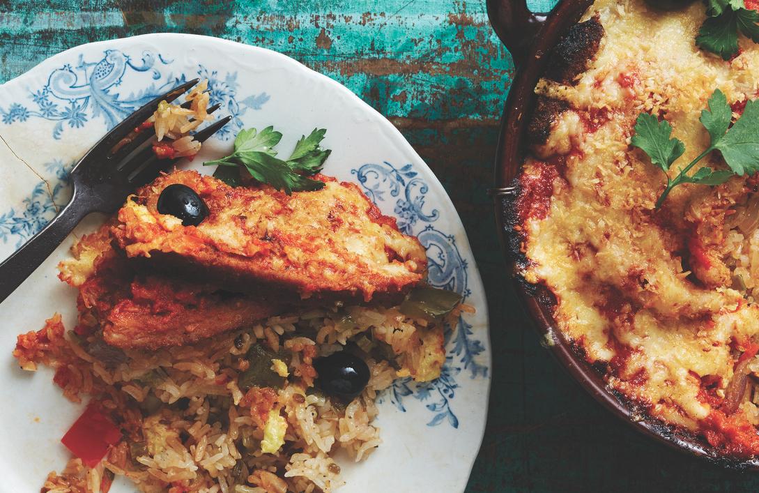 macau baked pork chop rice recipe Macanese Baked Pork Chop Rice Recipe