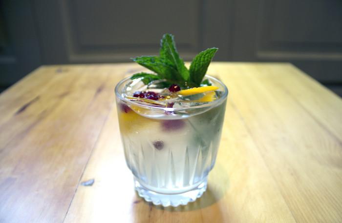 milk-punch cocktail