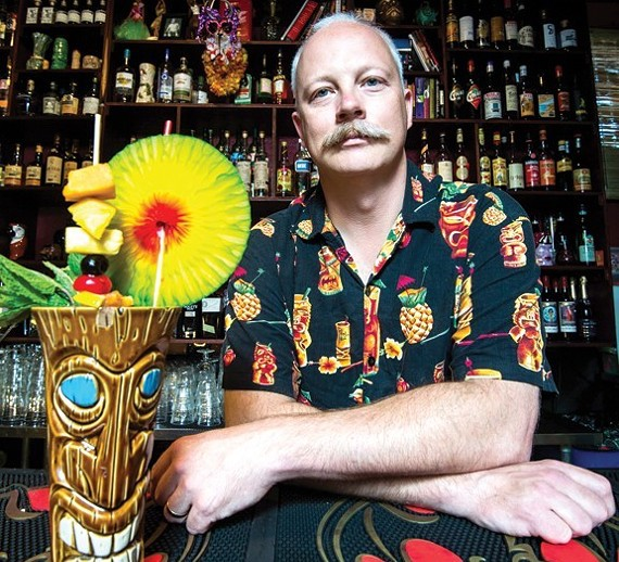 Cleveland's Porco Lounge and Tiki Room is proving that tiki is here to stay. (Photo credit: Ken Blaze)