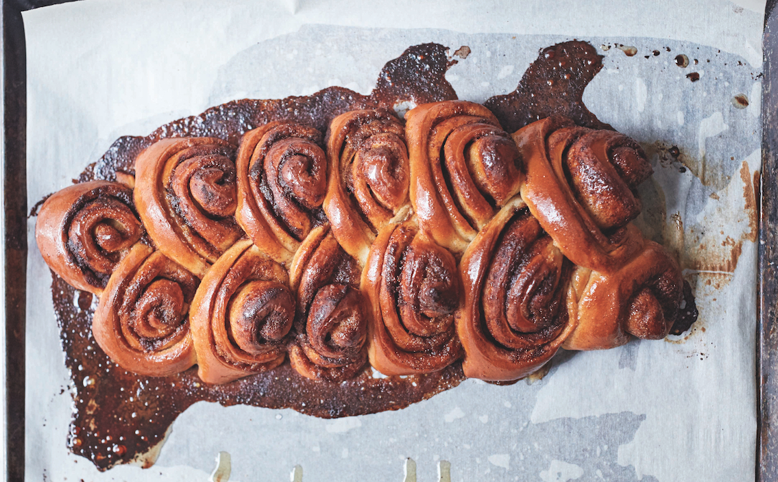 How To Make A Sticky Pull Apart Cinnamon Challah Braid