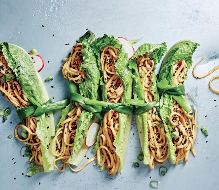 Vegan Sesame Noodle Bundles