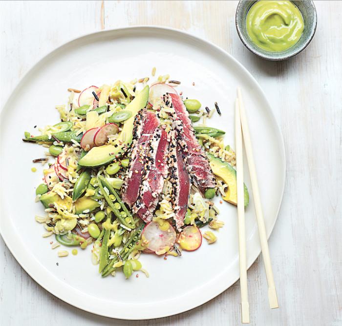 Tuna Sushi Salad