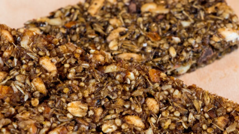 regrained granola bars