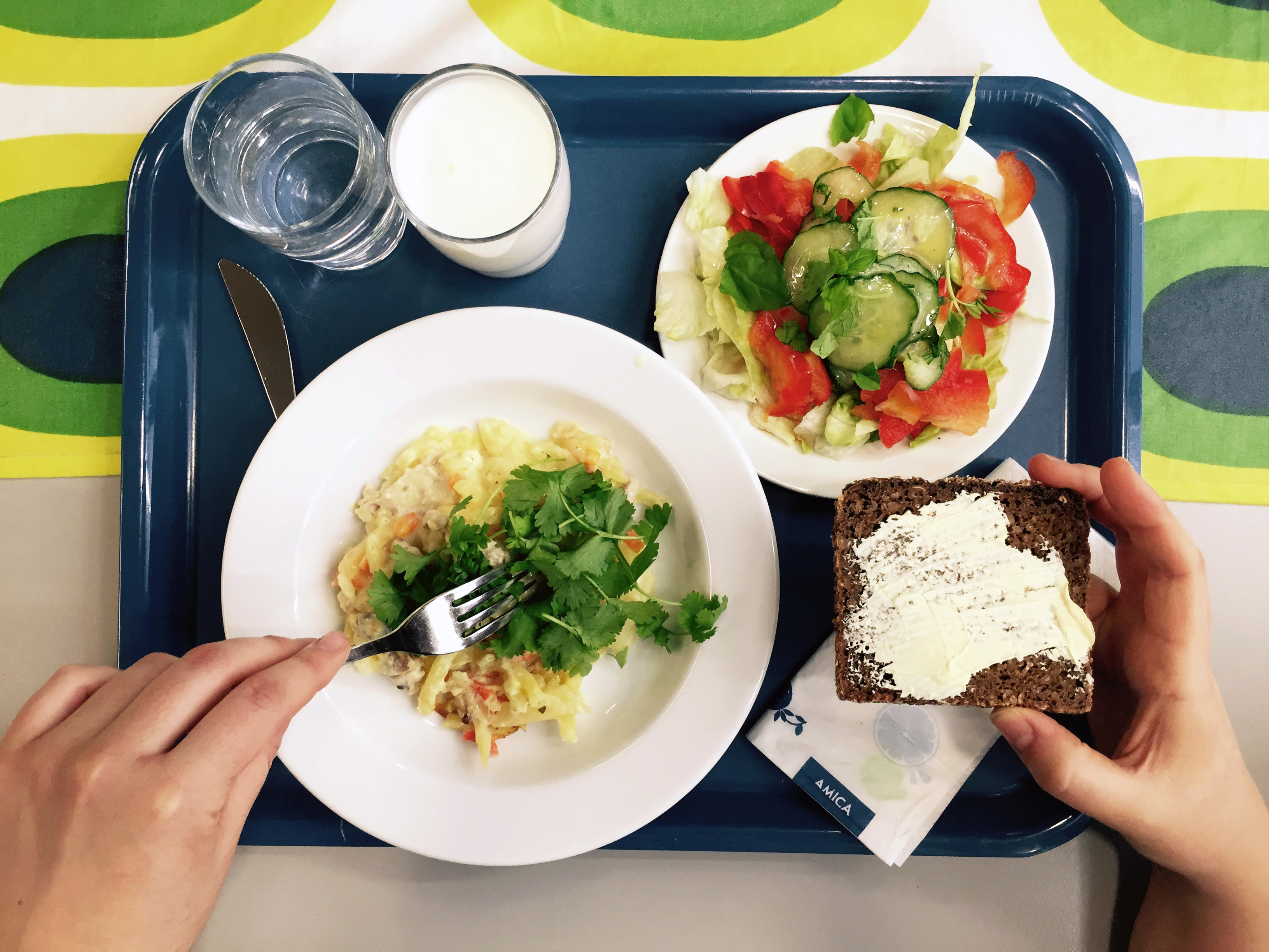 Do Finland's School Lunches Help Students Score Higher On Tests?