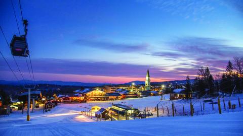 Ski Trip In Stratton, VT