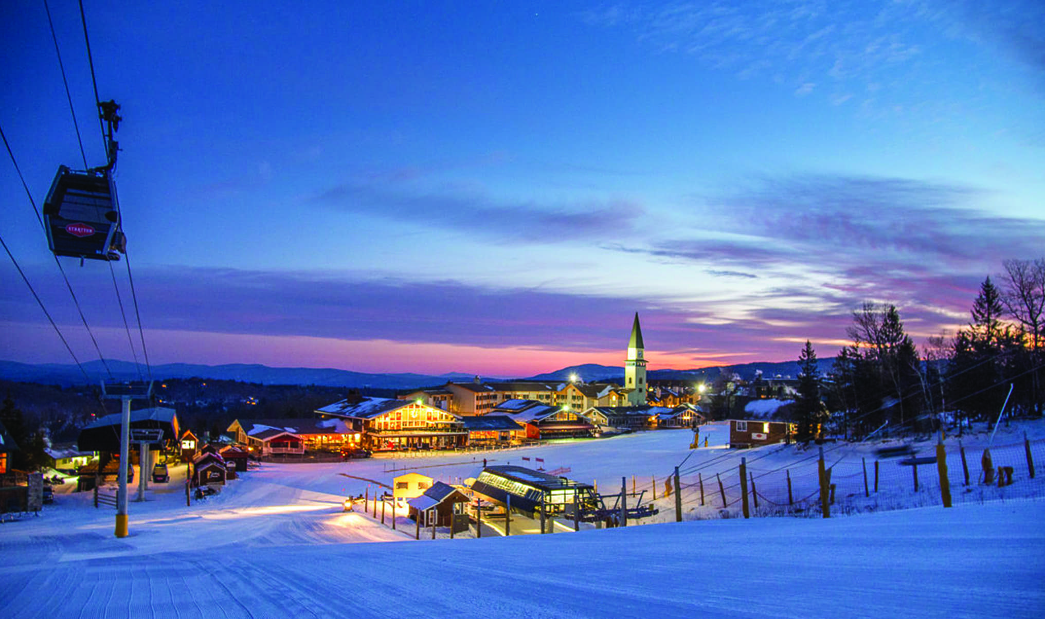 how to have a perfect couples' ski trip in stratton, vermont