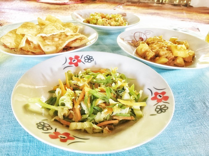 Salads are not hard to find across Myanmar.