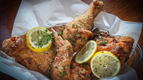 crispy fried chicken