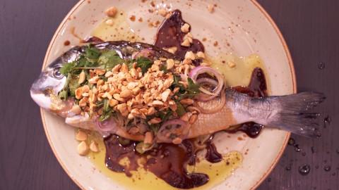 whole orata fish dale talde photo
