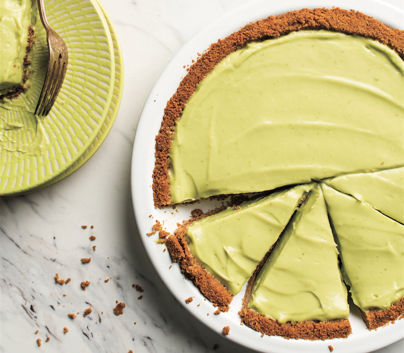 Avocado Key Lime Pie Is Green, Tart And Creamy