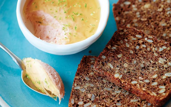 hot-smoked salmon pâté