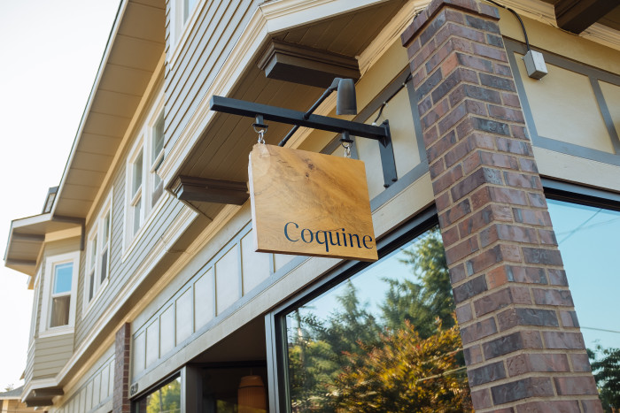 Coquine is located in the quiet neighborhood of Mt. Tabor. (Photo credit: Joshua Chang)