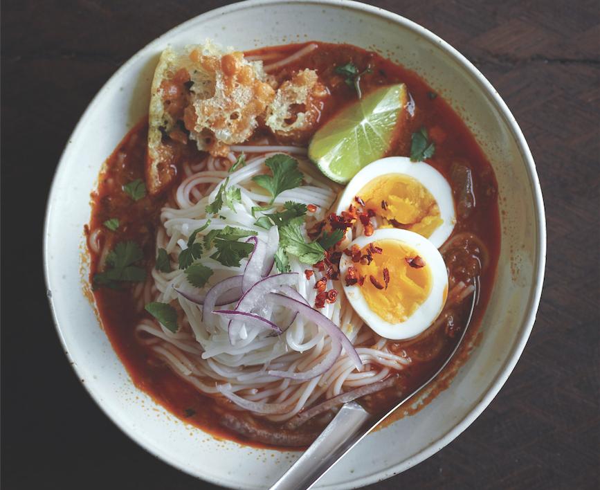 How To Make Classic Mohinga, A Beloved Burmese Noodle Soup