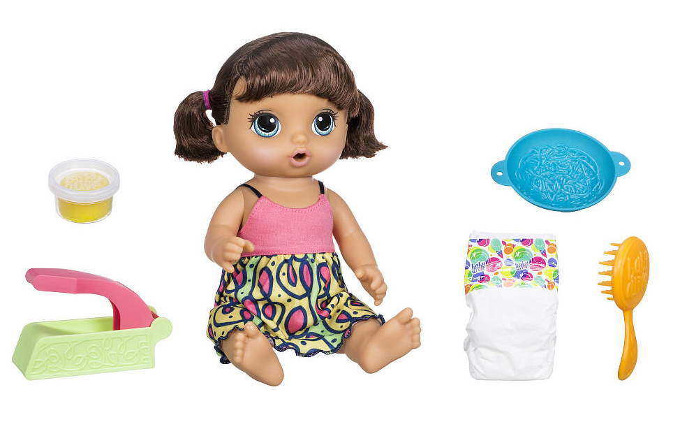 Baby Alive Is Alive Well And Eating Noodles In A Toy