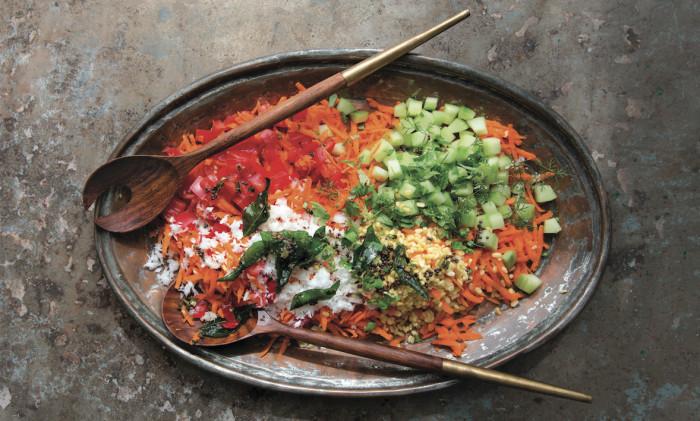 Shredded Carrot And Lentil Salad