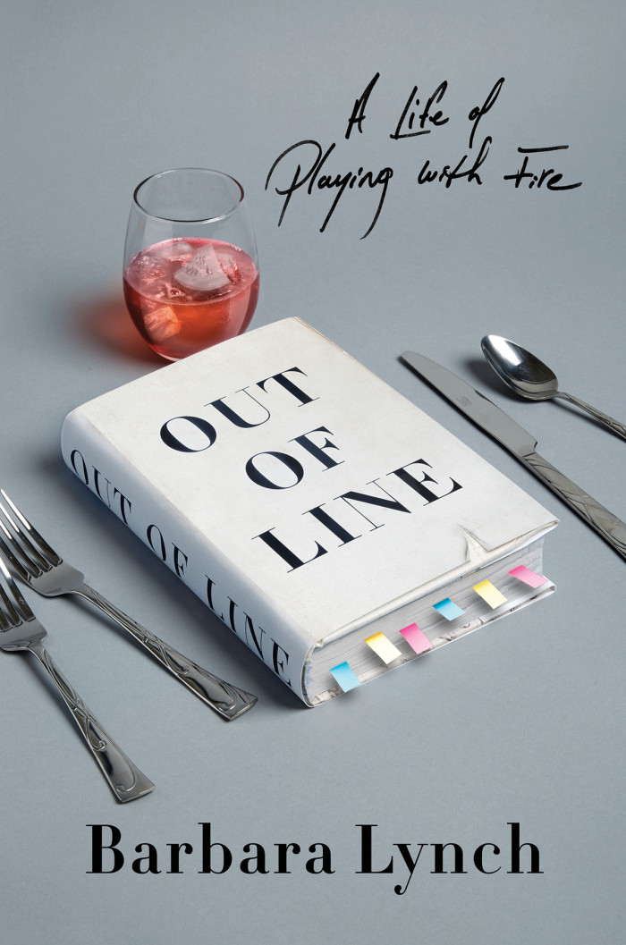 Barbara Lynch out of line book cover