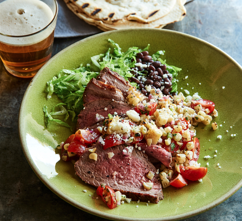 Tri-Tip With Corn Salsa, A Classic Summer Grilling Meal To