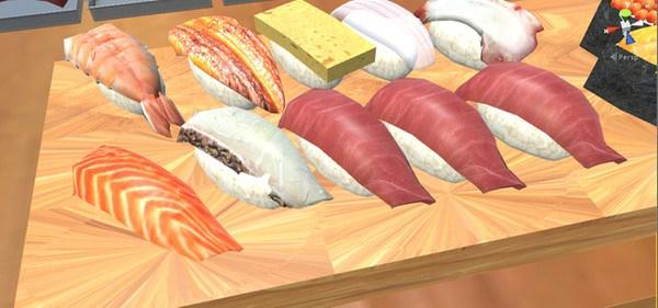 VR sushi bar