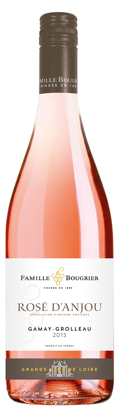 Famille Bougrier Rose d'Anjou wine photo