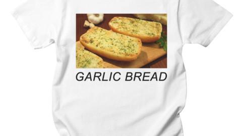 garlic bread shirt