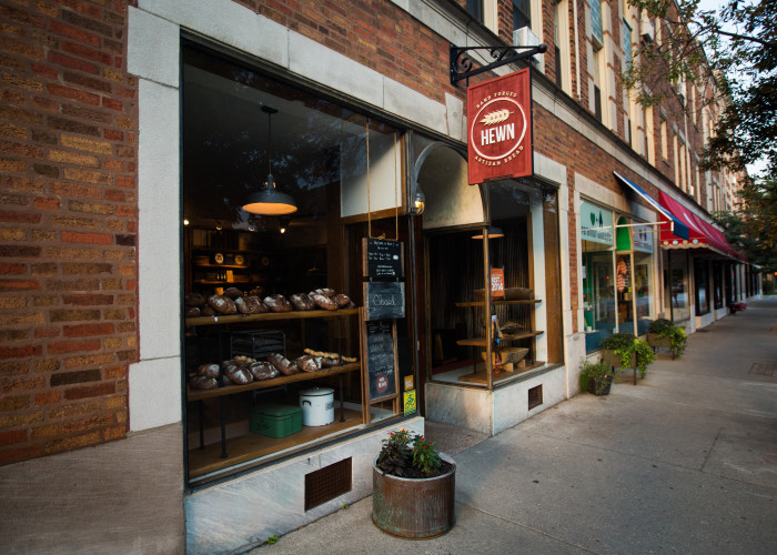 Hewn in Evanston, Illinois is home to King's heritage grain bread.