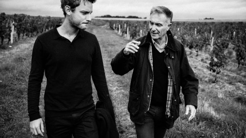 Nicolas (left) and his father Noël Bougrier of Loire Valley