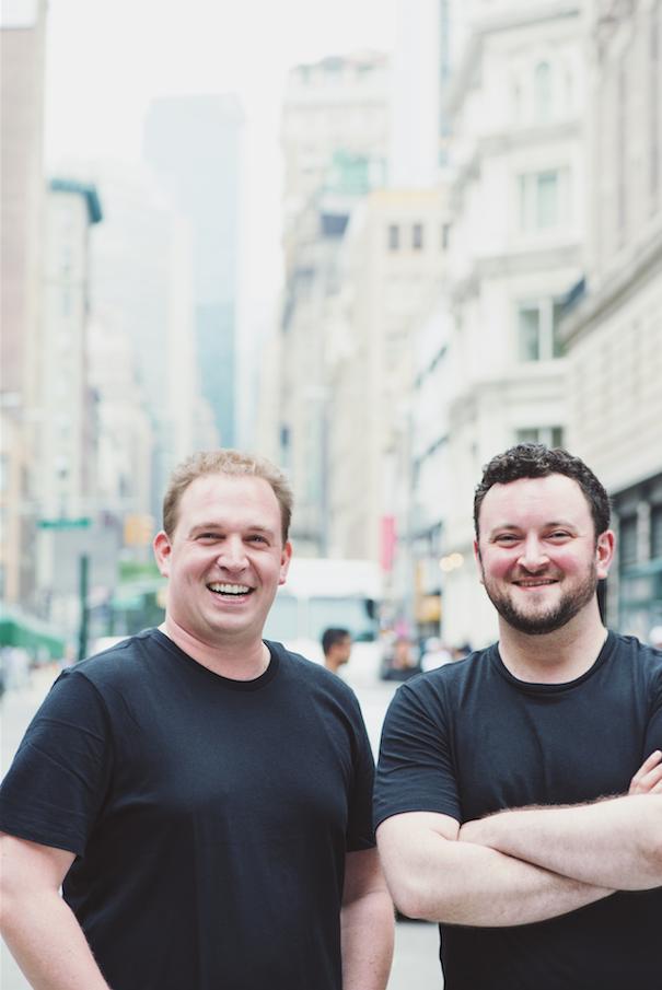Jon Mizrach (left) and Rick Bender