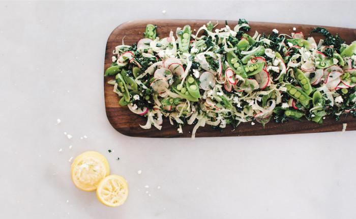 Radish And Kale Salad