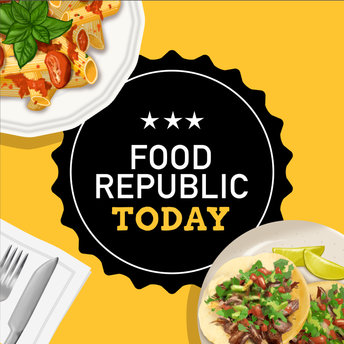 Food Republic Today daily podcast
