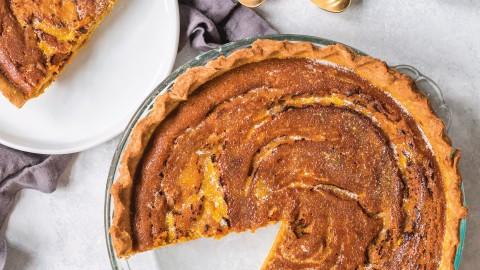 curried pumpkin pie