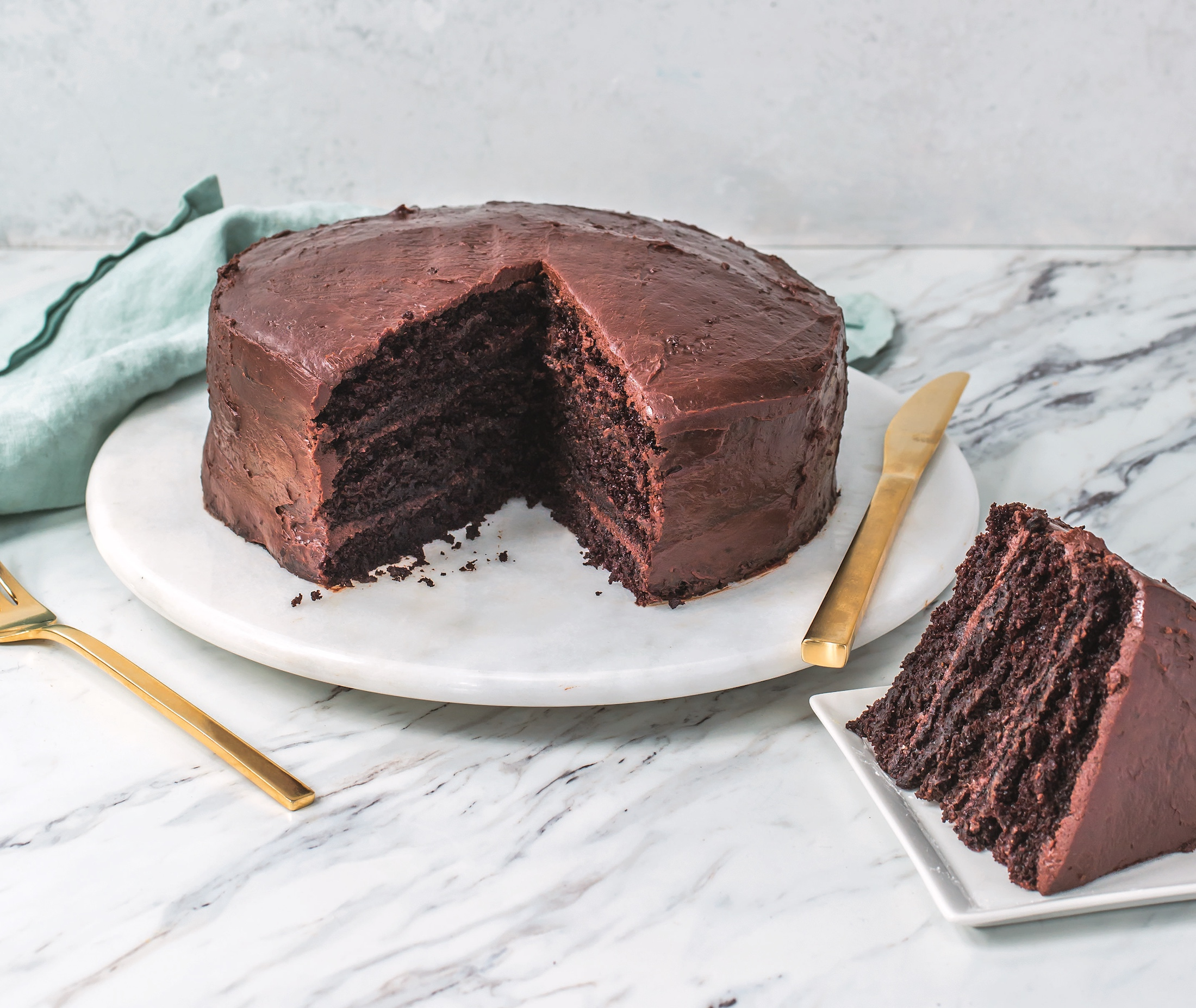 Chocolate Cake Chili Powder